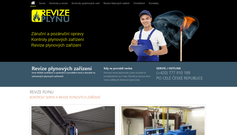 MilBr reference Revize plynu